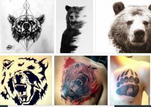 Grizzly Bear Tattoo & Bear Tattoo Image *2020 Best