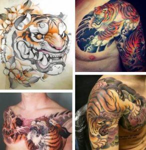 Japanese Tiger Tattoo & Tiger Tattoo Designs
