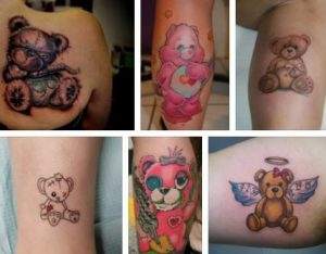 Teddy Bear Tattoo & Bear Tattoo Design Ideas