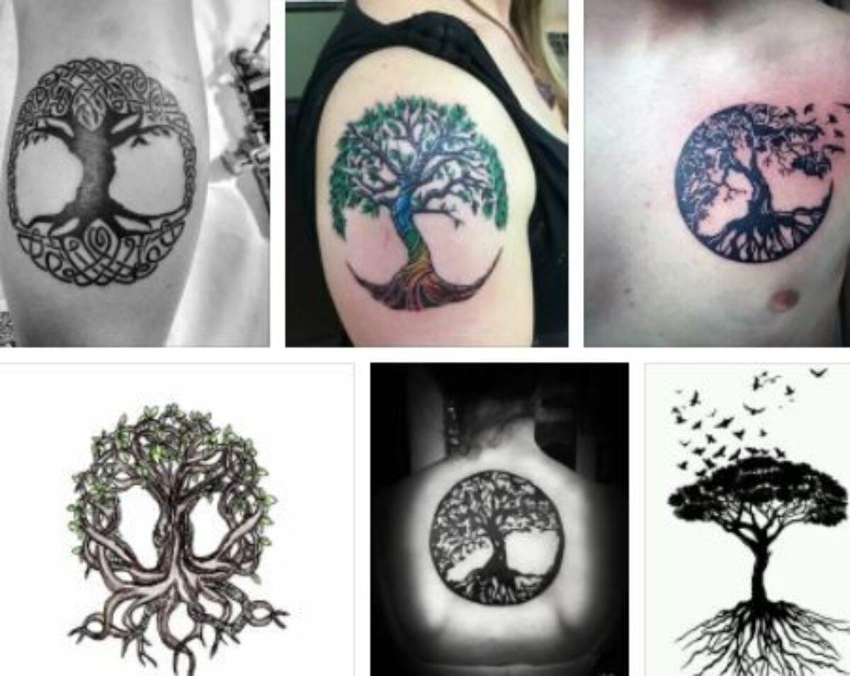 Tree of Life Tattoo Designs & Tree of Life Tattoo Sleeve Ideas ...