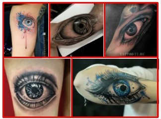 Evil Eye Tattoo & Small Evil Eye Tattoo *2020 New