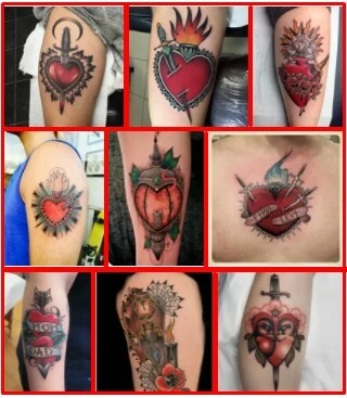 Sacred Heart Tattoo & Traditional Sacred Heart Tattoo *2020 New Best