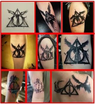 Deathly Hallows Tattoo *2021 New Best
