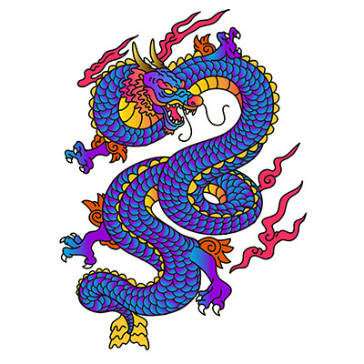 Japanese Dragon Tattoo Best of *2021 New