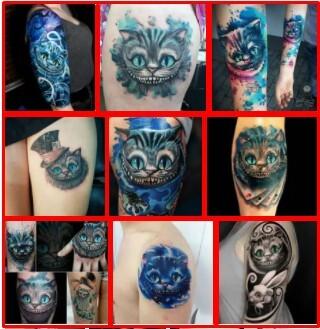 Cheshire Cat Tattoo *2021 New Best Tattoo