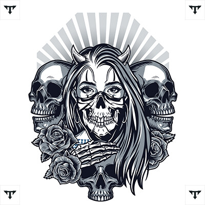 Demon Tattoo & Demon Slayer Tattoo Ideas *2021 New