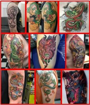 Shenron Tattoo & Shenron Sleeve Tattoo *2021 New Best